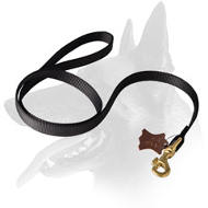 'Whatever The Weather' Belgian Malinois Nylon Leash