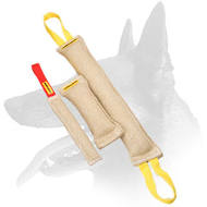 Buy Now Belgian Malinois Jute Bite Tugs Training Set and Save $5.95