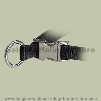 Nylon Quick-Release Training Pinch Collar for  Belgian Malinois