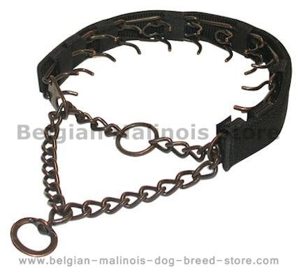 Strong Metal Prong Collar- Herm Sprenger Collar 25