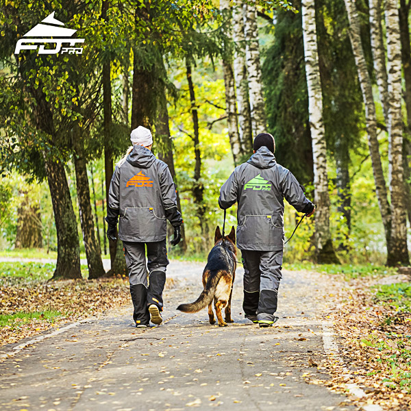 Pro Dog Trainer Jacket of Top Notch for Any Weather