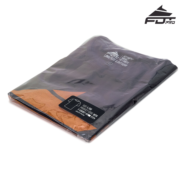 Packed FDT Professional T-shirt Dark Grey Color