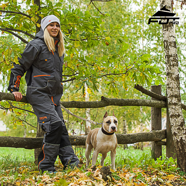 Men / Women Design Pants with Comfortable Back Pockets for Active Dog Training