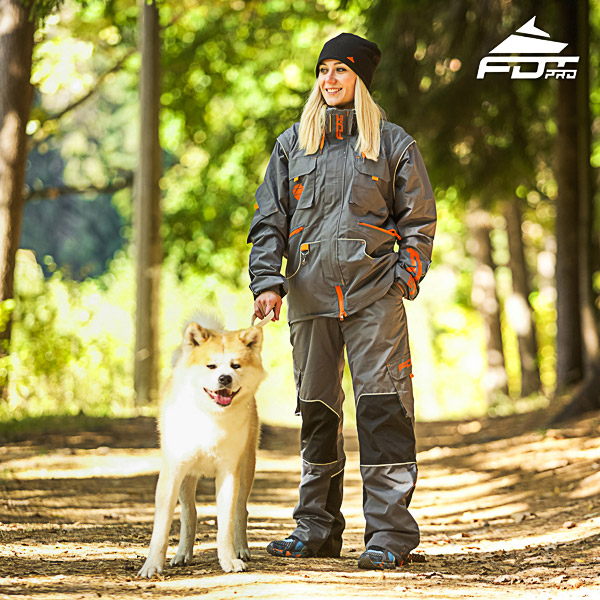 Men / Women Design Dog Training Jacket of Finest Quality Materials
