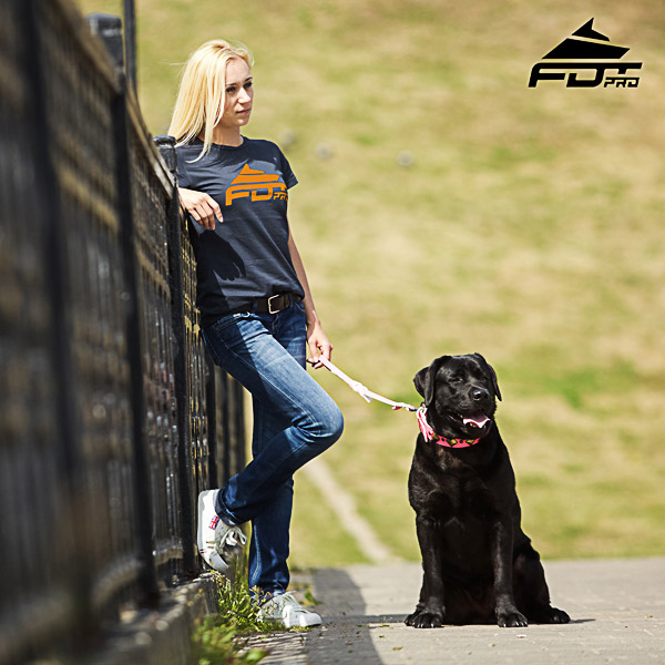 Women T-shirt of Quality Cotton for Dog Training