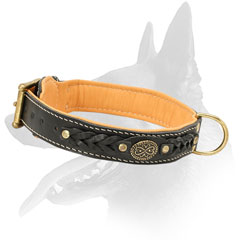 Multifunctional Malinois Leather Collar