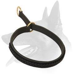 Stylish Leather Choke Collar