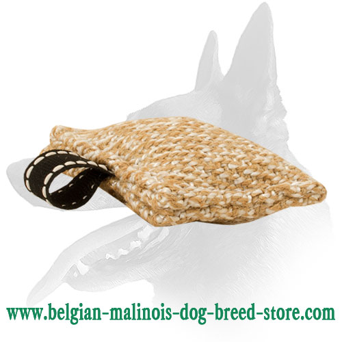 Jute Belgian Malinois Bite Tug Equipped with Handle