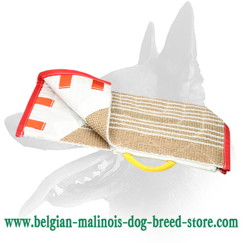 Protective Jute Bite Sleeve Cover for Belgian Malinois