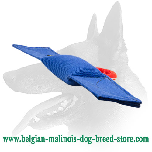 Reliable French Linen Pad for Belgian Malinois Training