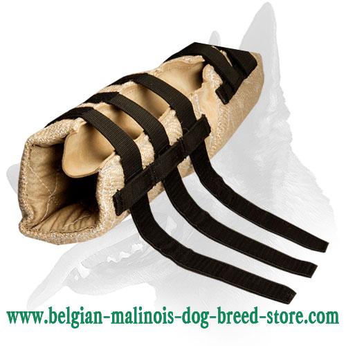 Strong Jute bite hidden sleeve for Belgian Malinois