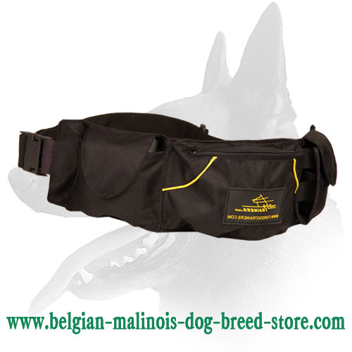 Belgian Malinois Pouch for Keeping Treats