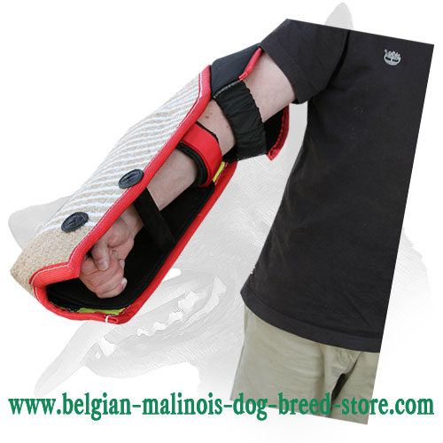 Belgian Malinois Bite Sleeve with Adjustable Strap