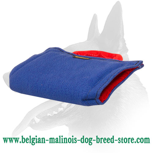 Soft First Biting Sleeve for Belgian Malinois Puppy