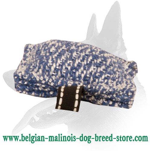 Safe Belgian Malinois Puppy French Linen Tug
