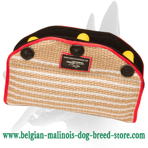 Belgian Malinois Bite Builder Made of Jute