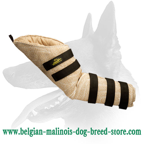 Jute bite sleeve for Belgian Malinois