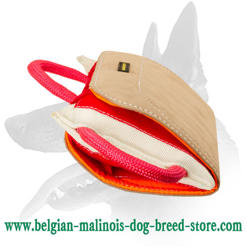 Belgian Malinois Bite Pad with 3 Handles