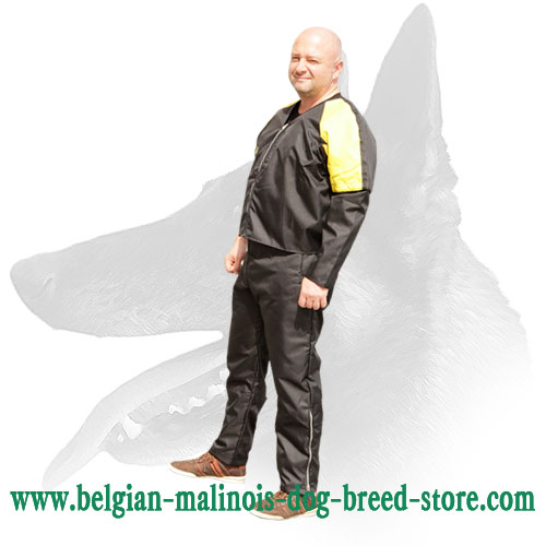 Strong and Durable Protection Scratch Suit for Belgian Malinois Training