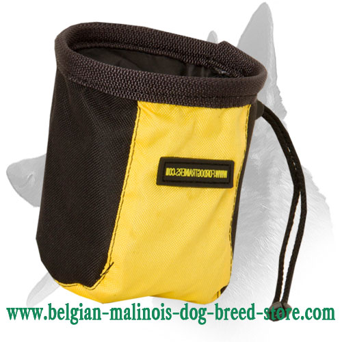 Belgian Malinois Treat Bag Made of Nylon