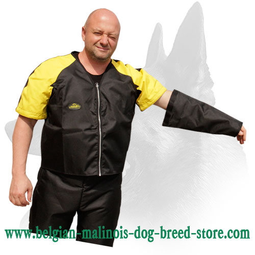 Scratch Jacket for Belgian Malinois Training