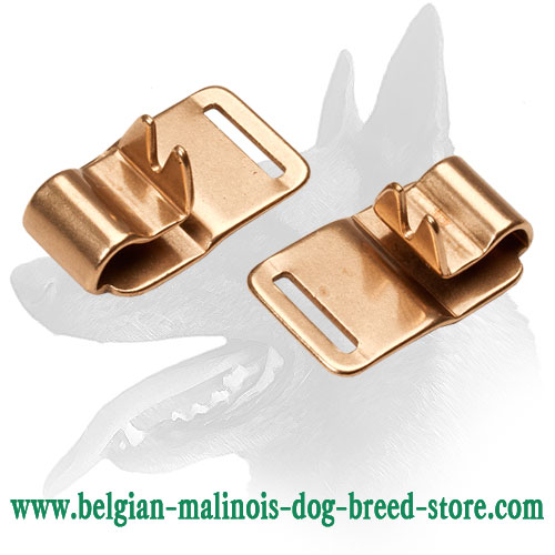 Extra Durable Links on Collar for Belgian Malinois