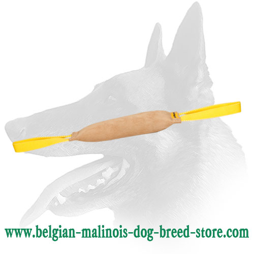 Belgian Malinois Bite Tug with 2 Nylon Handles