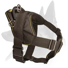 Non-restrictive Malinois Nylon Dog Harness