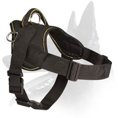 Strong Malinois Dog Nylon Harness