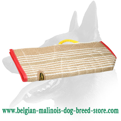 Safe and Durable Belgian Malinois Jute Cover for Bite Sleeves