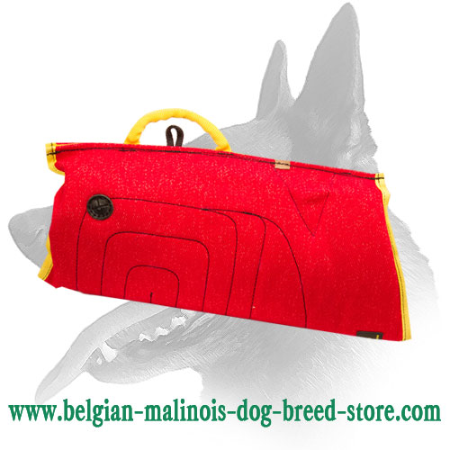 Belgian Malinois Soft French Linen Bite Sleeve