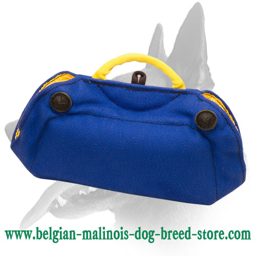 Belgian Malinois French Linen Bite Builder for Puppies and Young Dogs