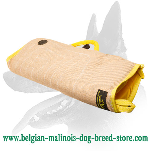 Super Soft and Durable Belgian Malinois Jute Puppy Bite Sleeve