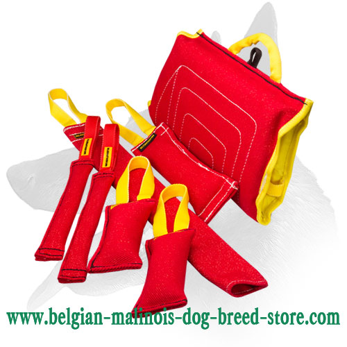 Buy this Belgian Malinois Bite Training Set and Get $21.15 Value Presents