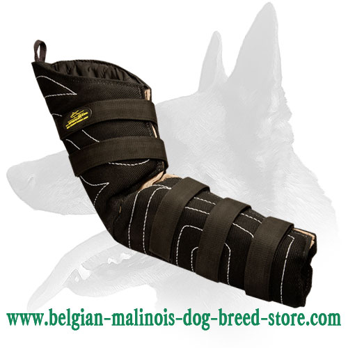 French Linen K9 Hidden Bite Sleeve for Belgian Malinois