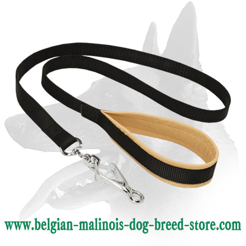 'Gentle Touch' Multifunctional Belgian Malinois Nylon Leash
