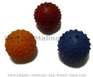 Rubber Squeaky Ball Dog Toy 2 3/8''(6cm)-Belgian Malinois Toys