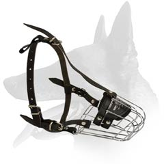 Malinois Wire Basket Muzzle